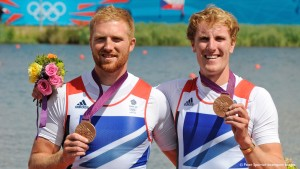 George Nash and Will Satch winning bronze at London 2012.